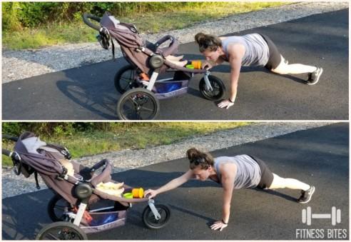 arm pull stroller